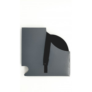 Talonnette largeur 17mm noir